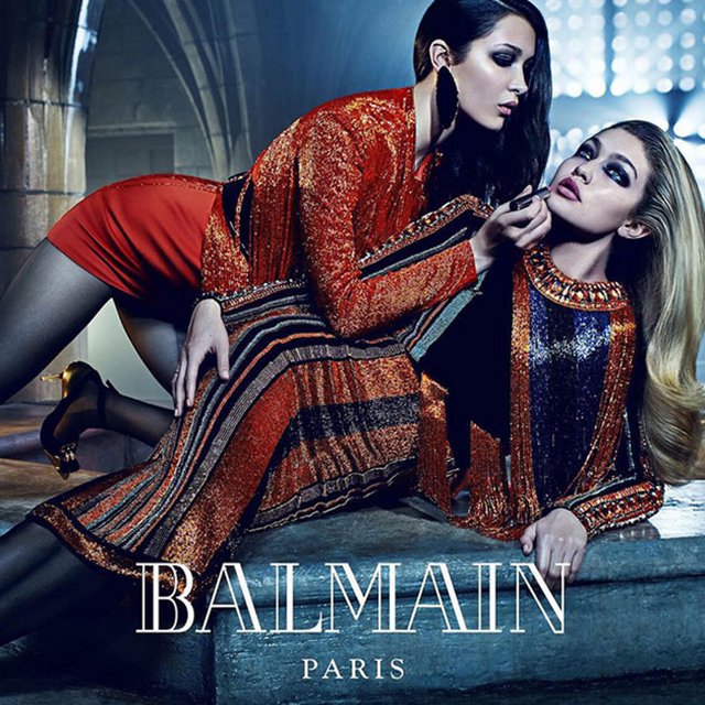 Family affair: Balmain taps celebrity siblings for its A/W '15 campaign