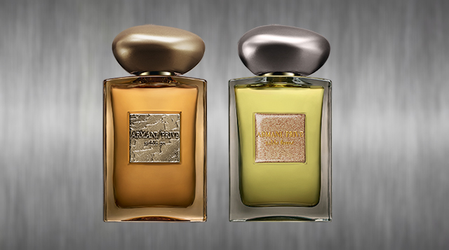 Get lucky with these new scents from Armani Privé
