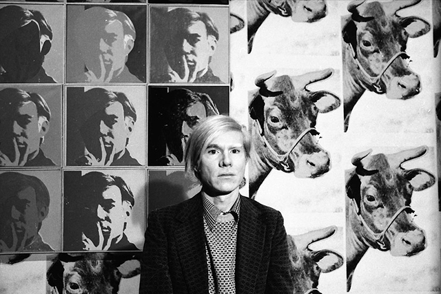 Andy Warhol as you've never seen him before