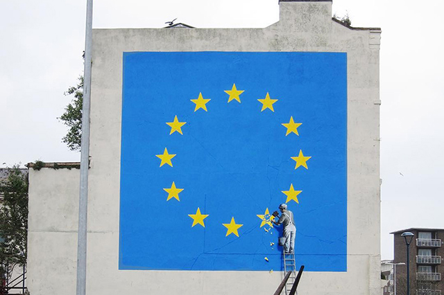 So this is what Banksy REALLY thinks of Brexit