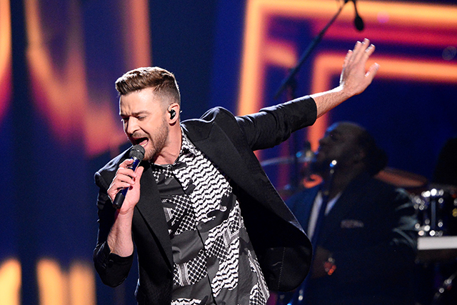 Guess where Justin Timberlake is bringing sexy back to?