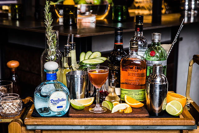 Kensington Street Social's new cocktail cart just made your weekend