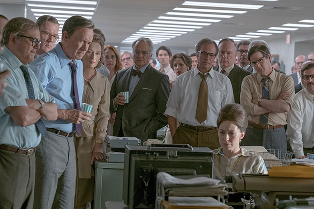 Watch the gripping new trailer for Steven Spielberg's 'The Post'