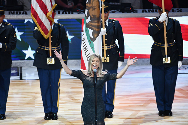 See why even Fergie says her national anthem performance #failed