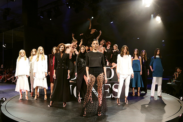 The 5 biggest moments from David Jones' A/W '16 show