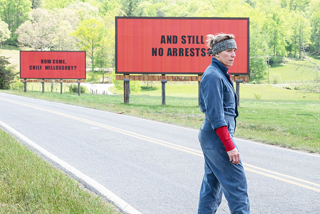 Does the guy who stole Frances McDormand's Oscar want his own billboard?