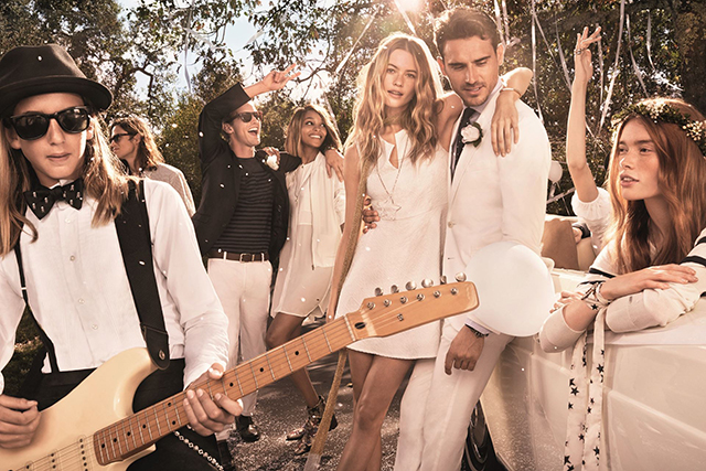 Exclusive video: Behati Prinsloo weds again for Tommy Hilfiger