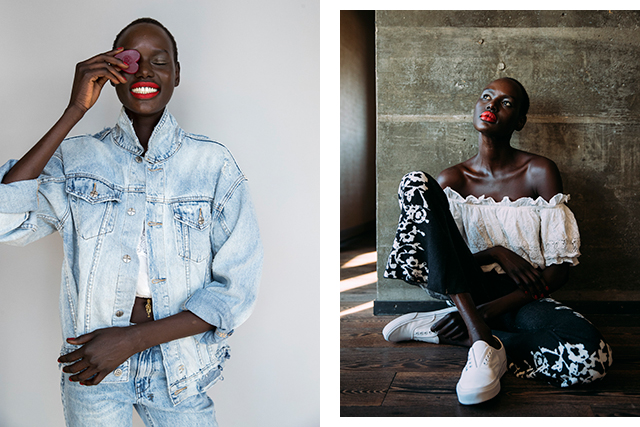 From refugee to top model: Ajak Deng's latest campaign hits home