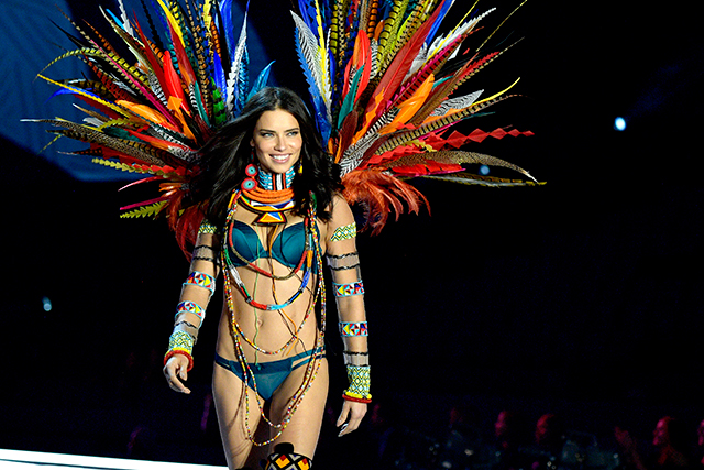 "Fallen angel: Adriana Lima won't take her clothes off for an ""empty cause"""