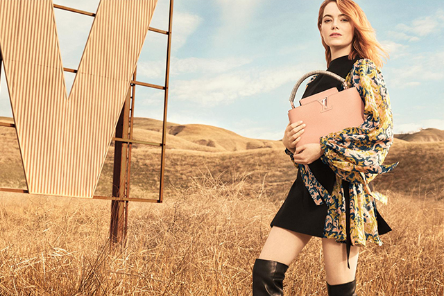 Emma Stone's first Louis Vuitton campaign is (obviously) stunning