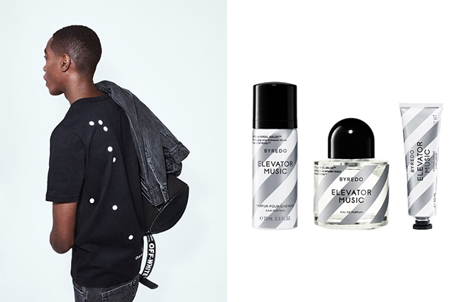 Off-White and Byredo launch fashion and beauty collab