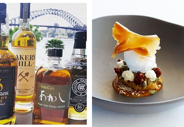 Scottish whisky by Sydney Harbour: the 5-course dinner whisky buffs will love