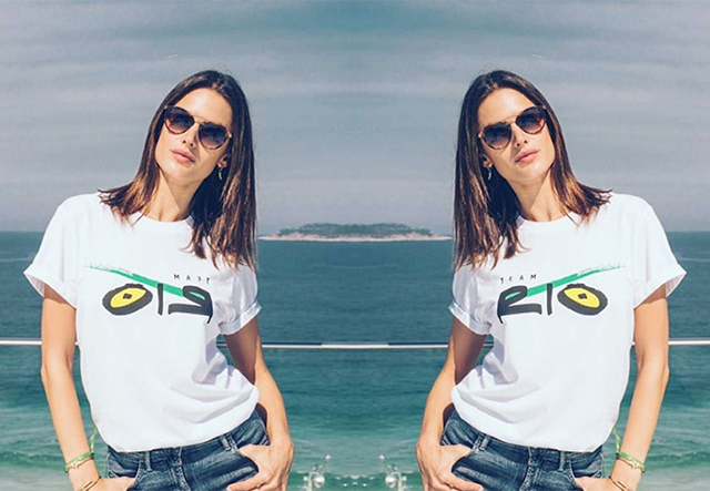 Alessandra Ambrosio is doing WHAT at the Rio Olympics?!