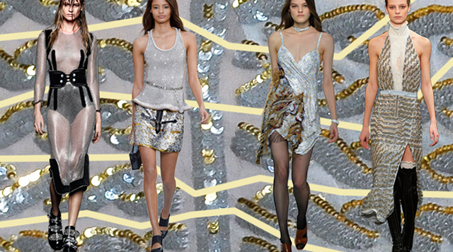 A/W 2015 trend update: high shine embellishment
