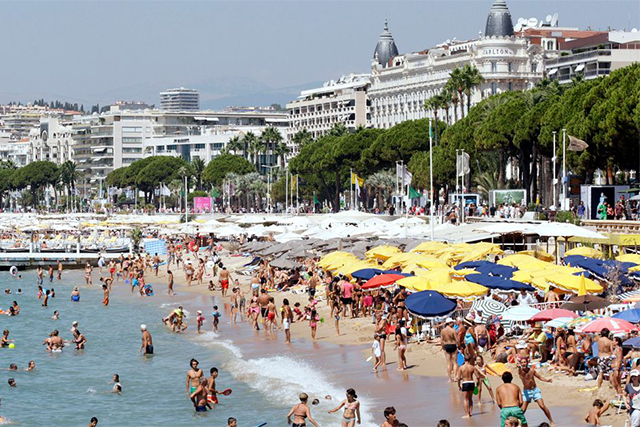 Cannes has banned burkinis from its beaches
