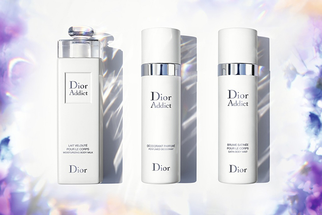Dior Addict's new bath and body line is a treat for the senses