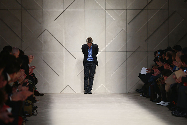 Christopher Bailey leaves his post as Burberry's CEO
