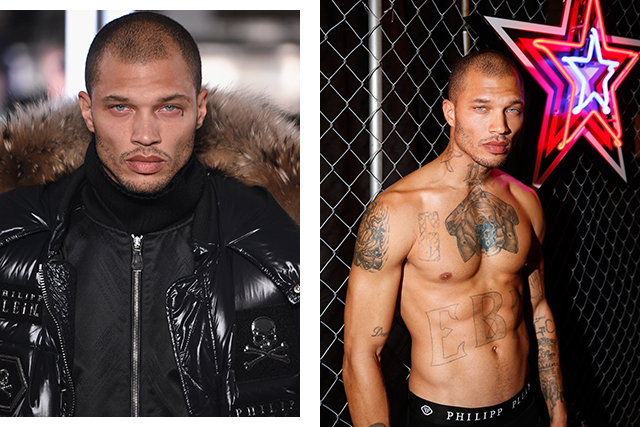 The Hot Felon just made his runway modelling debut