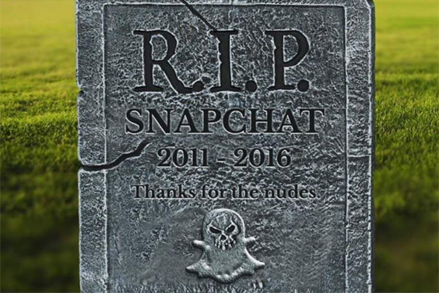Is this the end of Snapchat?