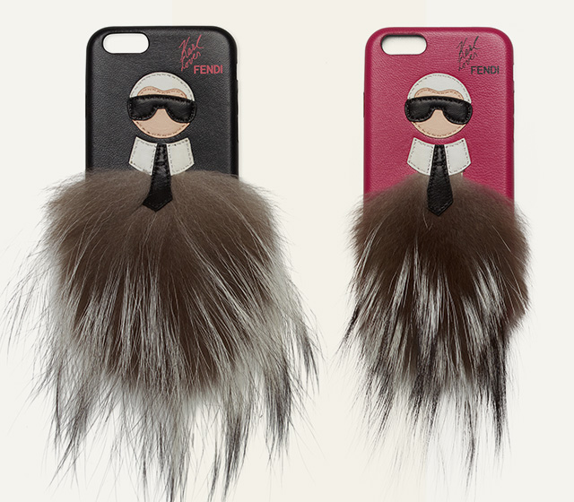 Karl + Kendall = the coolest Fendi iPhone case ever