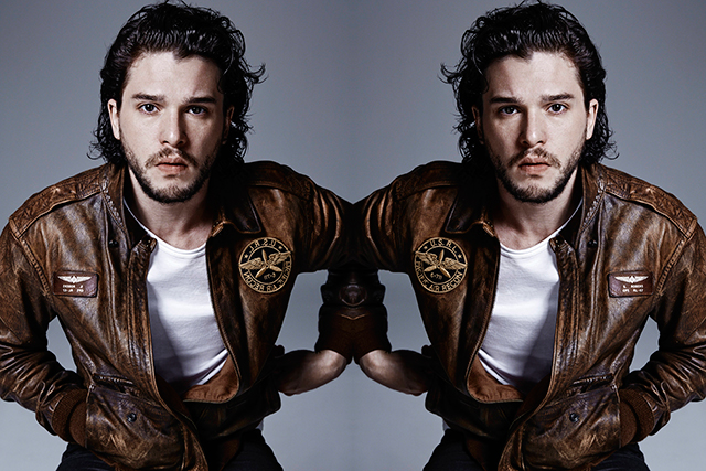 Kit Harington says a punch up scored him the Jon Snow role