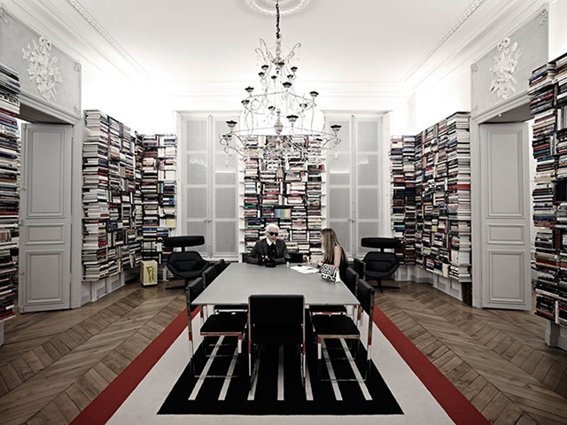 7 iconic home libraries to get lost in