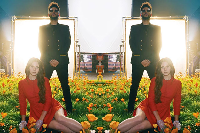Lana Del Rey and the Weeknd just dropped a new tune together