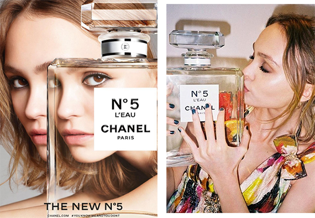 Finally! Lily-Rose Depp reveals her first Chanel N˚5 campaign