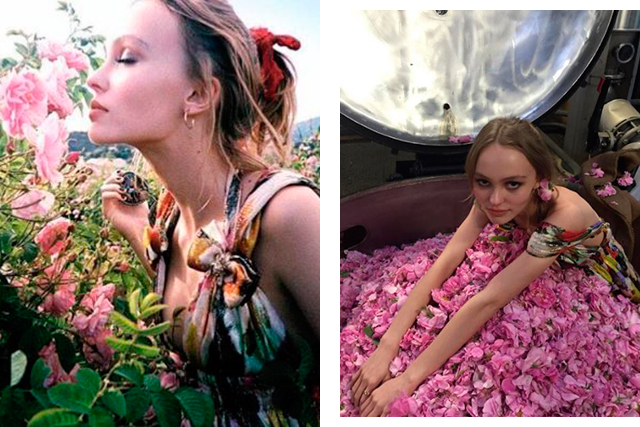 Sneak peak: Lily-Rose Depp previews her Chanel campaign