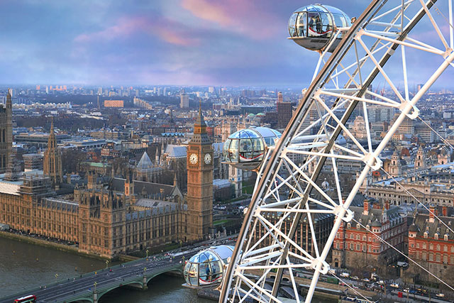 You can now spend the night in the London Eye