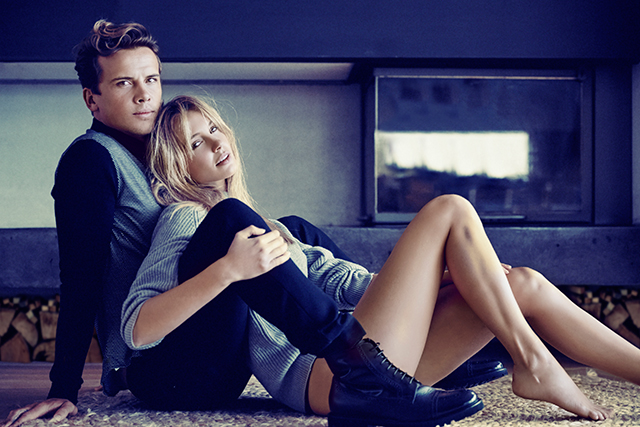 Sneak peek: pro surfer Julian Wilson and his model fiancée in their first ever shoot