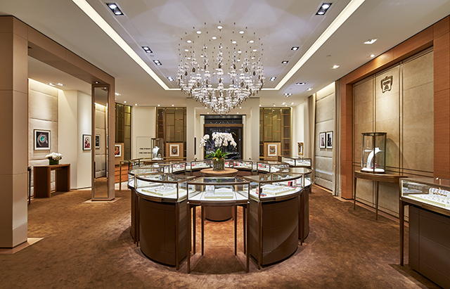 Cartier 39 s new flagship sydney store has all the diamonds for Experiential design sydney