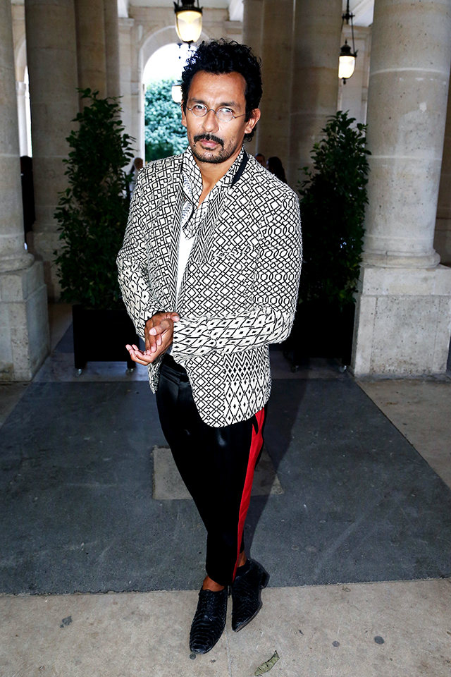Lounge luxe: inside Haider Ackermann's decadent, colourful world