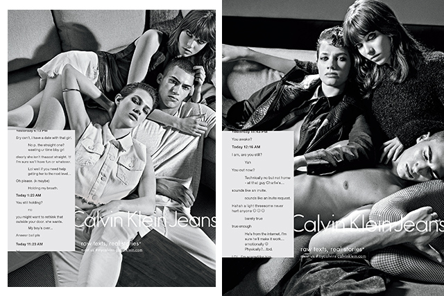 #MyCalvins controversy: Calvin Klein starts sexting for their new campaign