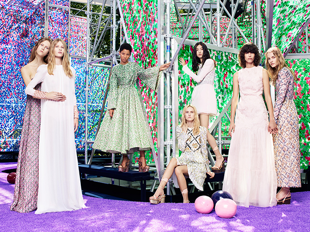 The garden of earthly delights at Dior couture A/W '15