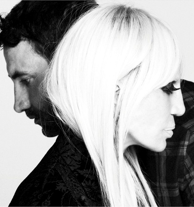 Crossing over: Donatella Versace stars in Givenchy's A/W '15 campaign