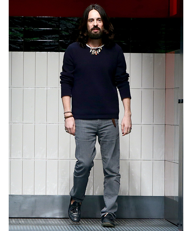 All hail Alessandro Michele: the Gucci creative director gets top gong
