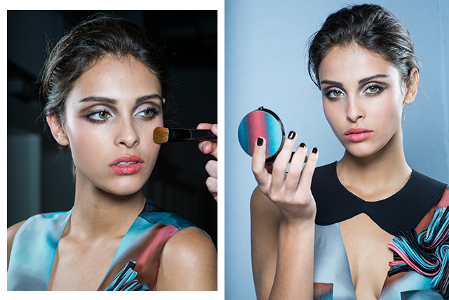 Fresh from fashion week: the new Armani Runway make-up line