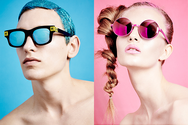 Super shades: House of Holland's pop-tastic new eyewear collection
