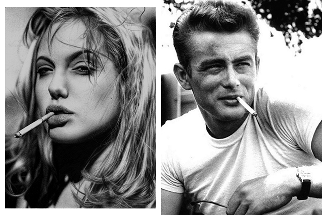 Rebel chic: 30 of Hollywood's biggest bad boys and girls