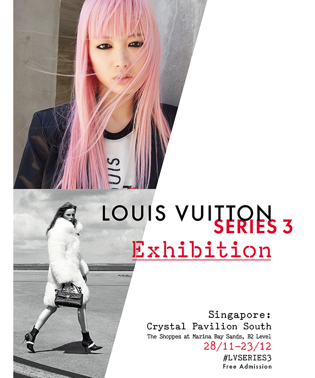 Louis Vuitton presents its first fashion exhibition in Singapore