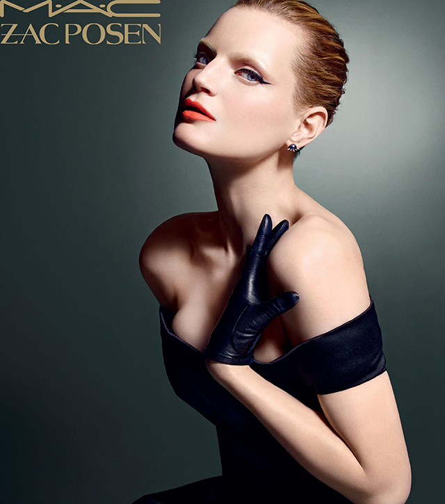Zac Posen's cosmetics couture for M.A.C launches today