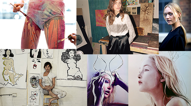 Models making art: the slashies you need to know about