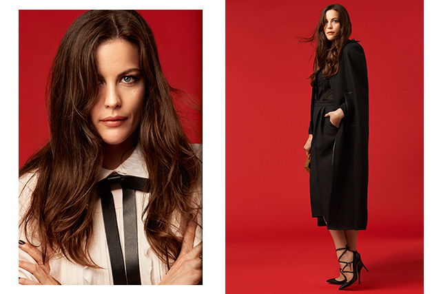 Must watch: behind the scenes on Liv Tyler's latest shoot
