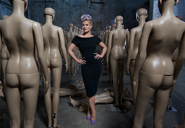 Fresh face: Kelly Osbourne launches Westfield's S/S '15 campaign