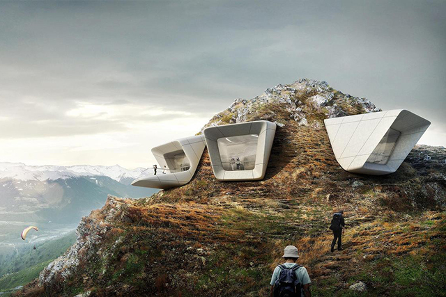 High altitude architecture: Zaha Hadid's epic new mountain museum