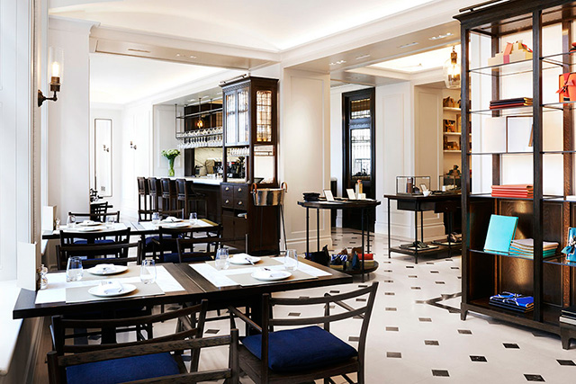Check please: Burberry opens a café in London
