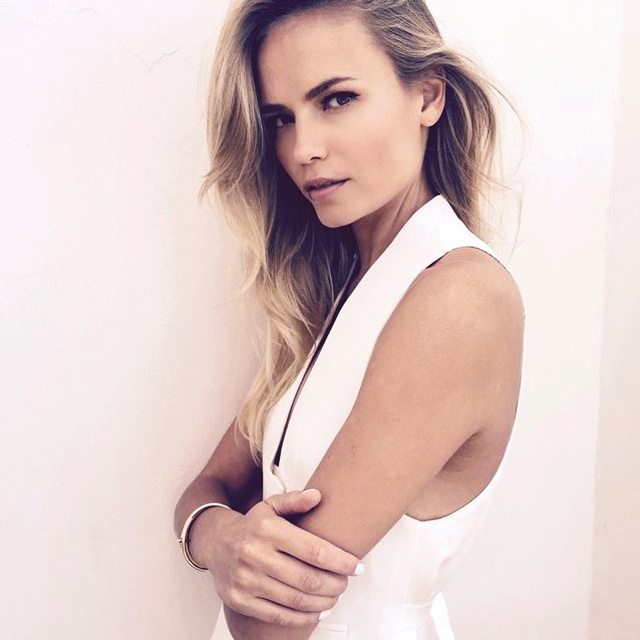 Model multi-tasker: why Natasha Poly doesn't use a make-up artist