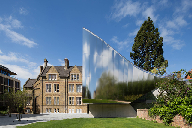 Oxford University now has the world's most incredible lecture theatre