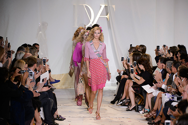 Which British designer has scored the top job at Diane von Furstenberg?